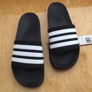 NWT adidas adilette slides sandals